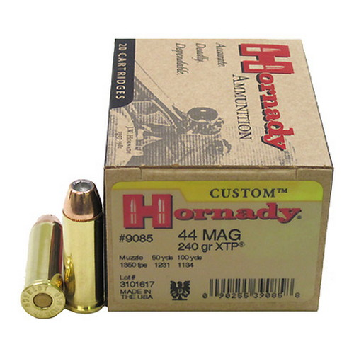 Hornady 44 Mag 240gr XTP /20 Mfg# 9085