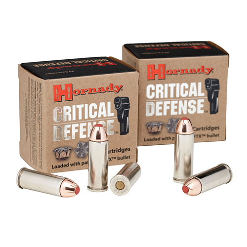 Hornady 45 Colt 185gr FTX Crit Def /20 Mfg# 92790