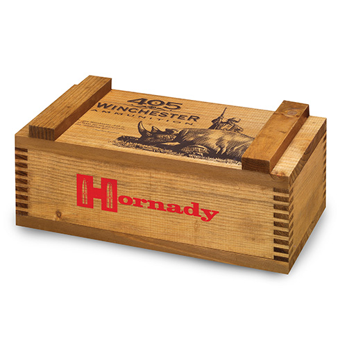 Hornady Wooden 405 Win Ammo Box Mfg# 9905