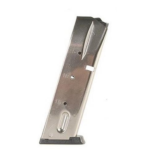 Mecgar S&W 5900 Series/915 9mm 15Std Nkl Mfg# MGSW5915N