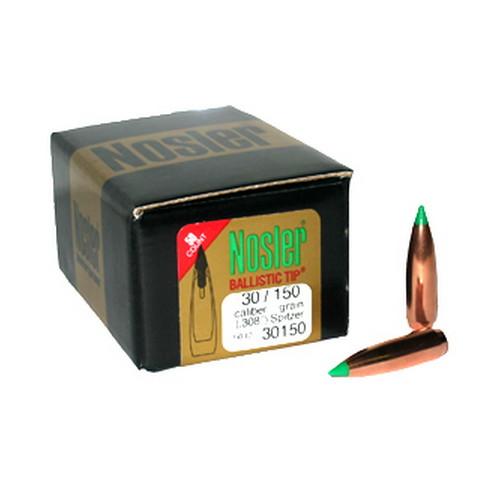 Nosler 30 Cal 150gr BallisticTip (50 ct) Mfg# 30150
