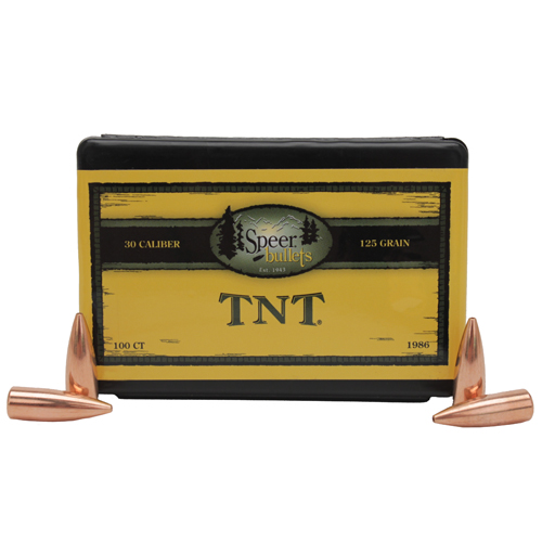 Speer .30 125Grain TNT-HP/100 Mfg# 1986