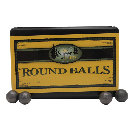 Speer .451 138Grain Lead Balls/100 Mfg# 5133