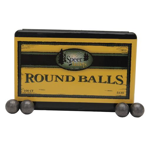 Speer .454 141Grain Lead Balls/100 Mfg# 5135