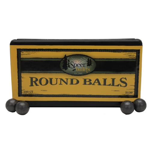 Speer .490 177Grain Lead Balls/100 Mfg# 5139