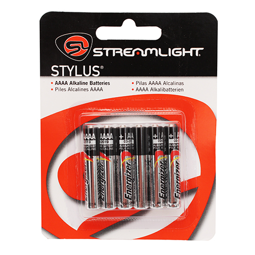 Streamlight 6-Pack AAAA Batteries Mfg# 65030