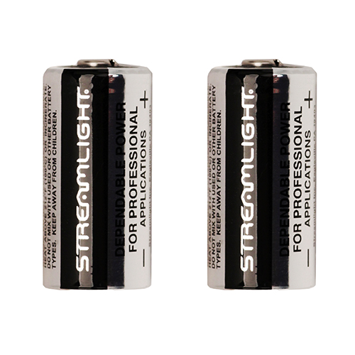 Streamlight Scorpion Lithium Batteries/2 Mfg# 85175