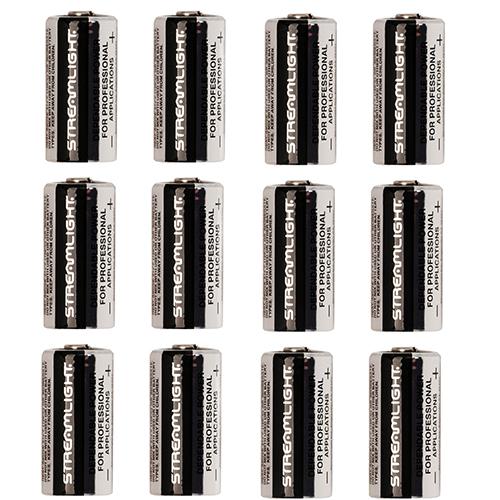 Streamlight Lithium Batteries 12 pack, CR123A Mfg# 85177