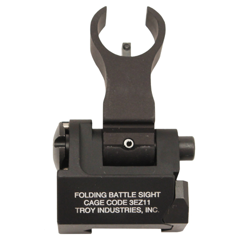 Troy Industries Front Trit HK Folding Sight BLK Mfg# SSIG-FBS-FHBT-02