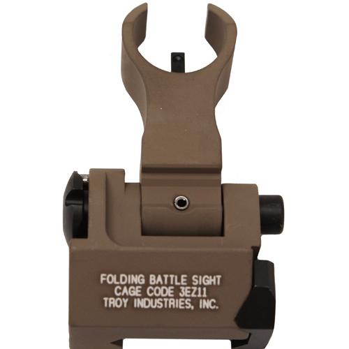 Troy Industries Front Trit HK Folding Sight FDE Mfg# SSIG-FBS-FHFT-02