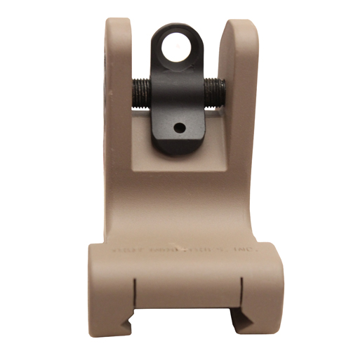 Troy Industries Rear Fixed Battle Sight - FDE Mfg# SSIG-FRS-R0FT-00