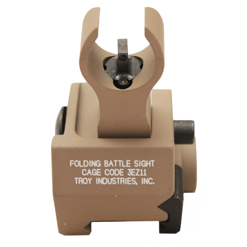 Troy Industries Front Trit HK Gas Block Sight FDE Mfg# SSIG-GBF-00FT-01
