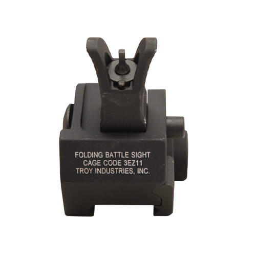 Troy Industries Front M4 Fld Gas Block Sight BLK Mfg# SSIG-GBF-0MBT-00