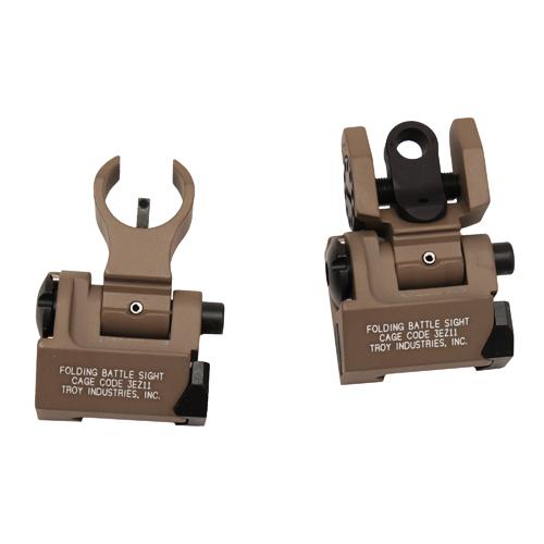 Troy Industries MICRO Trit HK Set FDE Mfg# SSIG-IAR-STFT-00