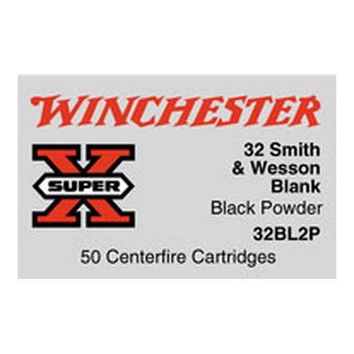 Winchester Ammo SupX 32 S&W Black Powder/50 Mfg# 32BL2P