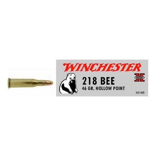Winchester Ammo SupX 218 Bee 46grHP /50 Mfg# X218B