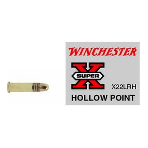 Winchester Ammo SupX 22LR Lead HP Hi-Vel 37gr /50 Mfg# X22LRH