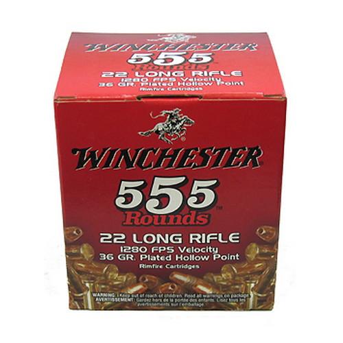 Winchester Ammo 22LR 36gr LHP Bulk Pack /555 Mfg# 22LR555HP