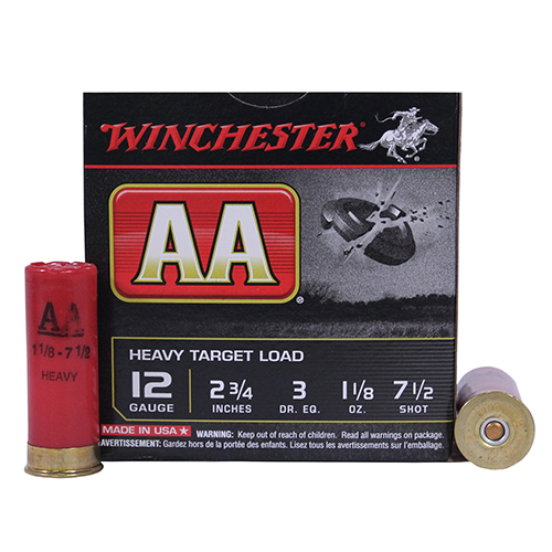 "Winchester Ammo 12Ga. 2.75"" 7.5-Shot Target/25 Mfg# AAM127"