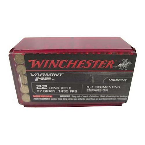 Winchester Ammo 22LR HP Varmint HE /50 Mfg# S22LRFSP