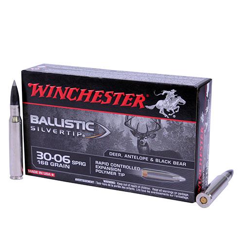Winchester Ammo Supreme 30-06 168gr B Silvertip Mfg# SBST3006A