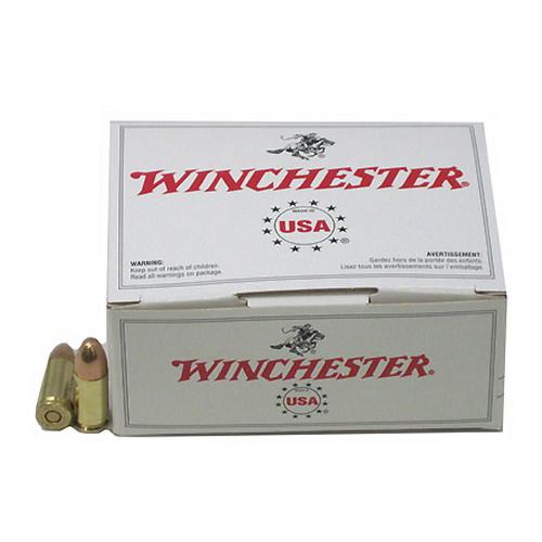 Winchester Ammo USA 9mm Luger 115gr FMJ/100 Mfg# USA9MMVP