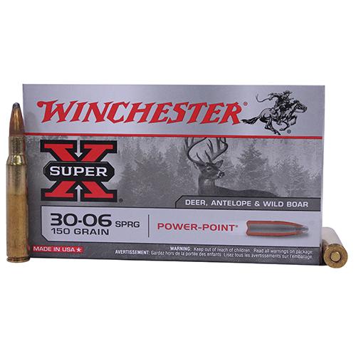 Winchester Ammo SupX 30-06 SP 150gr PowerPoint/20 Mfg# X30061