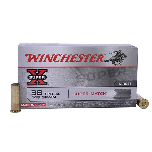 Winchester Ammo SupX 38 SPL 148gr Lead Wadcut/50 Mfg# X38SMRP