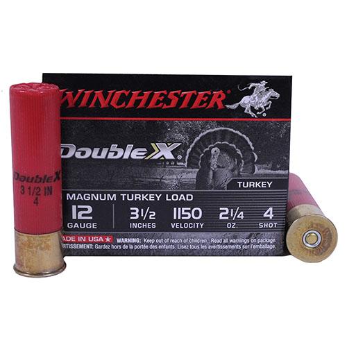 "Winchester Ammo 12Ga. 3.5"" 4-Shot Mag Turkey/10 Mfg# XXT12L4"