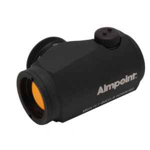 Aimpoint Micro H-1 4 MOA no mount - cardboard box Mfg# 12526