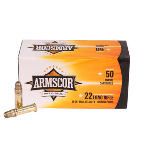 Armscor Precision Inc 22LR HVHP 36gr /50 Mfg# 50015