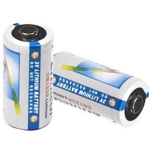 Barska Optics CR123 Battery, 2pcs/Pack Mfg# AF11574