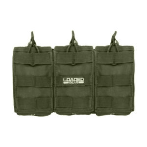 Barska Optics CX-200 Triple Magazine Pouch, Green Mfg# BI12276