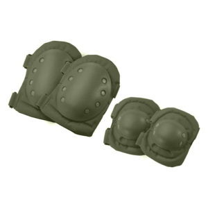 Barska Optics CX-400 Elbow and Knee Pads, Green Mfg# BI12280