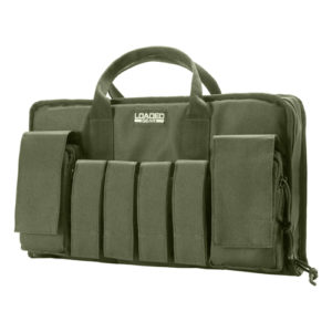 "Barska Optics RX-50 16"" Tactical Pistol Bag, Green Mfg# BI12292"