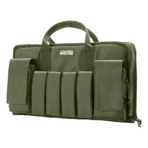 """Barska Optics RX-50 16"""" Tactical Pistol Bag, Green Mfg# BI12292"""