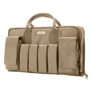 "Barska Optics RX-50 16"" Tactical Pistol Bag, Tan Mfg# BI12314"