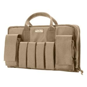 """Barska Optics RX-50 16"""" Tactical Pistol Bag, Tan Mfg# BI12314"""