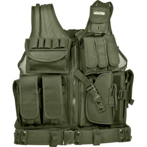 Barska Optics VX-200 Tactical Vest, Green Mfg# BI12332