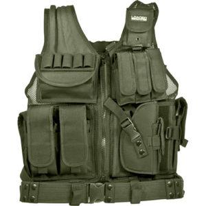 Barska Optics VX-200 Tactical Vest, Green Mfg# BI12332