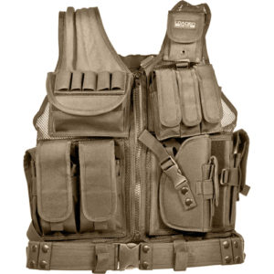 Barska Optics VX-200 Tactical Vest, Tan Mfg# BI12346