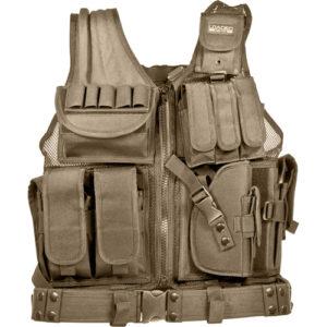 Barska Optics VX-200 Tactical Vest, Tan Mfg# BI12346