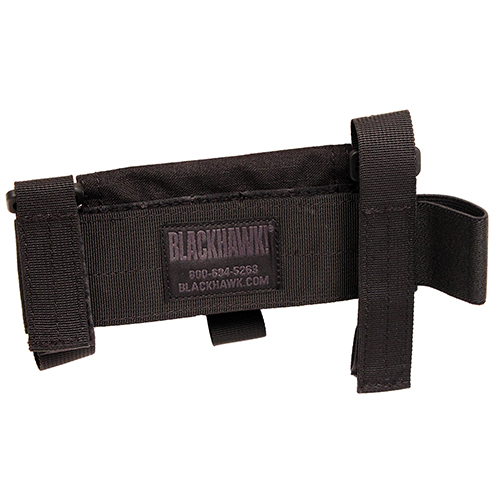 Blackhawk! Buttstock Shotgun Shell Pch Typ 5 Blk Mfg# 52BS02BK