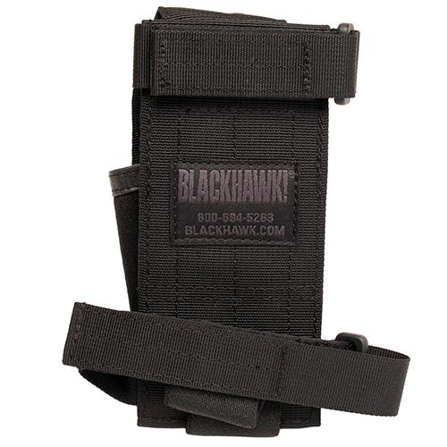 Blackhawk! Buttstock Mag Pch w/Adj Lid Blk Mfg# 52BS16BK