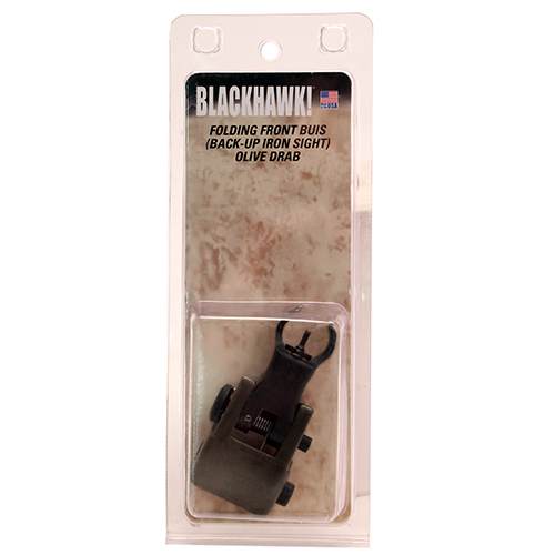 Blackhawk! Folding Front BUIS OD Mfg# 71BU02OD