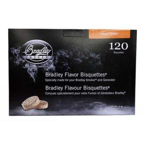 Bradley Technologies Maple Bisquettes (120 Pack) Mfg# BTMP120