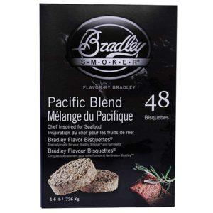 Bradley Technologies Pacific Blend Bisquettes 48 pack Mfg# BTPB48