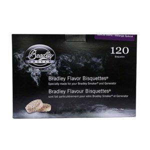 Bradley Technologies Special Blend Bisquettes (120 Pk) Mfg# BTSB120