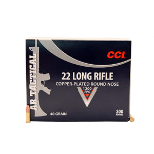 CCI 22LR Tactical 22 40gr CPRN /300 Mfg# 956
