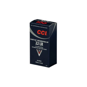 CCI 22LR Quiet 22 40gr Segmented HP /50 Mfg# 970